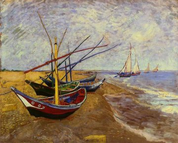 Van Gogh - Fischerboote