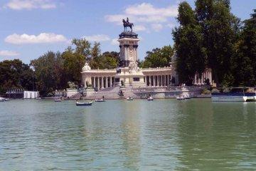 Spanien - Madrid - Parque el Retiro