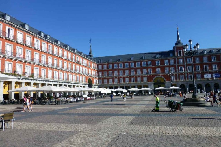Spanien - Madrid - Plaza Mayor