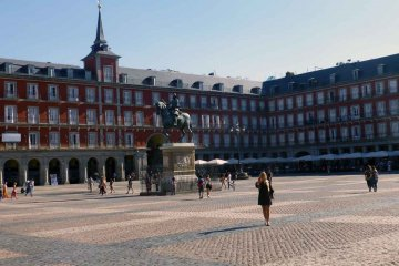 Spanien - Madrid - Plaza Mayor