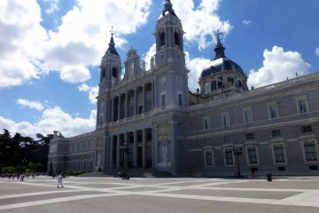 Spanien - Madrid - Almuneda-Kathedrale