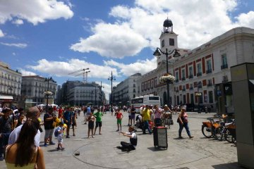 Spanien - Madrid - Puerta del Sol
