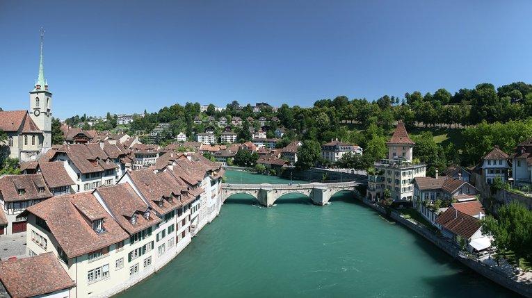 Schweiz - Bern - Untertorbrücke