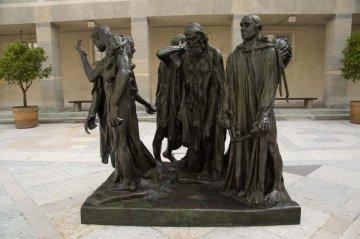 Buerger von Calais - Auguste Rodin
