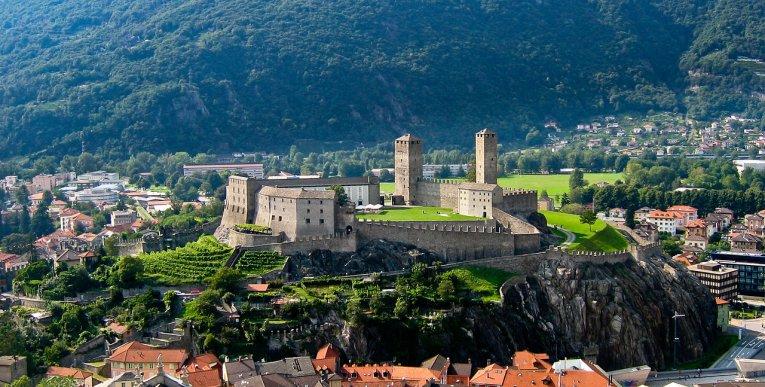Schweiz - Tessin - Castelgrande Bellinzona