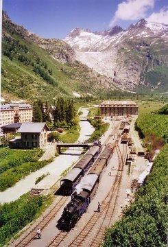 Schweiz - Wallis - Gletsch