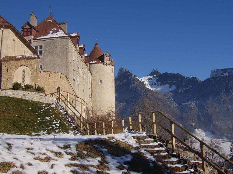 Schweiz -Gruyeres