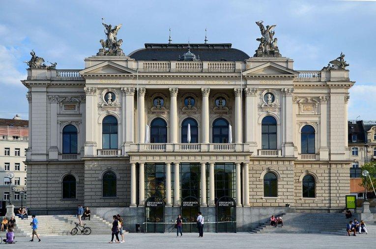 Schweiz - Zürich Opernhaus
