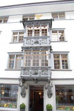 Schweiz - Tessin - St. Gallen Café Pelikan