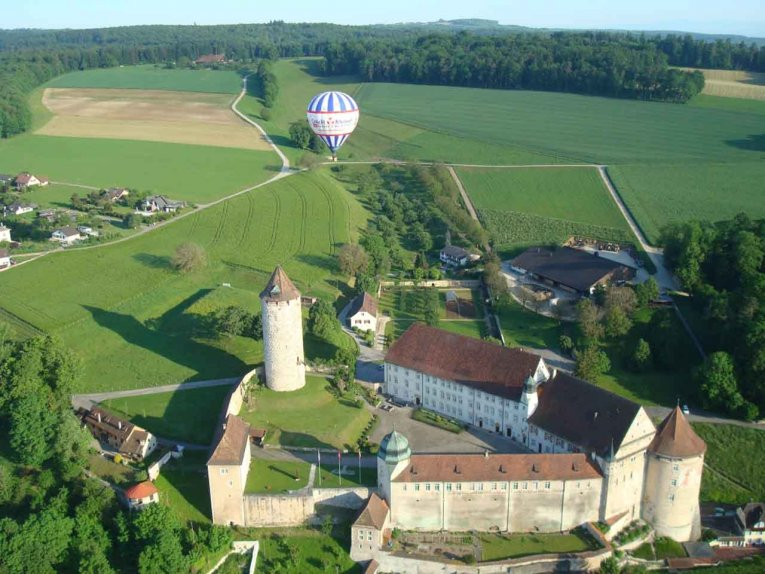 Schweiz - Schloss-Porrentruy
