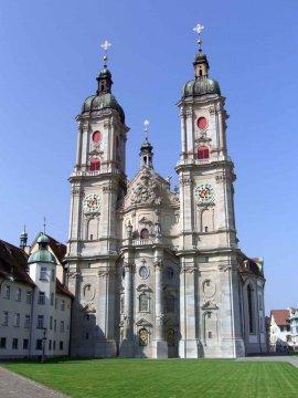 Schweiz - Tessin - St. Gallen Stiftskirch
