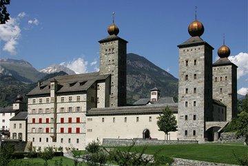 Schweiz - Wallis - Stockalper Schloss
