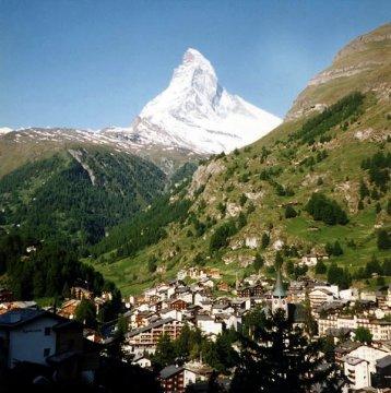 Schweiz - Wallis - Zermatt und Matterhorn