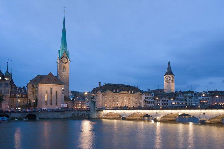 Schweiz - Zürich - Frauenmünster