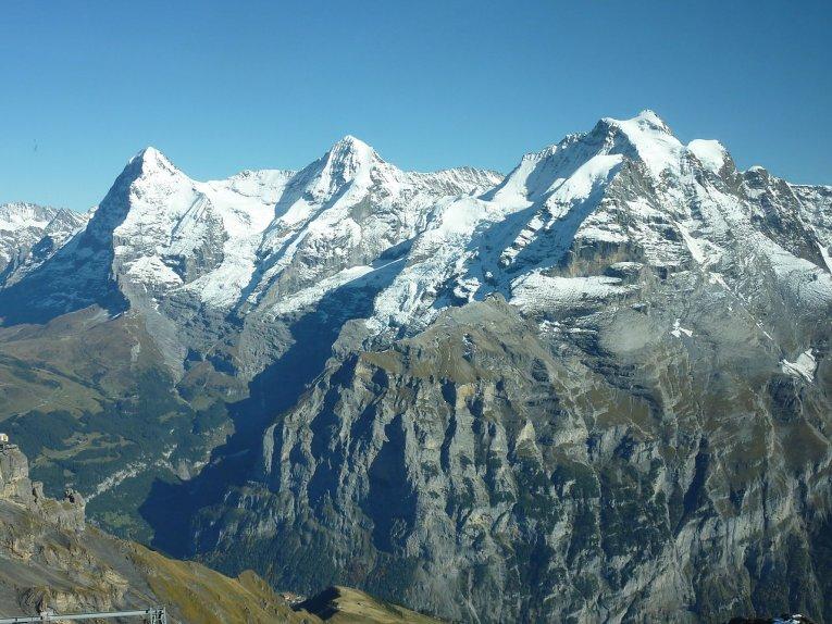 Schweiz - Berner Oberland - Eiger-Mönch-Jungfrau