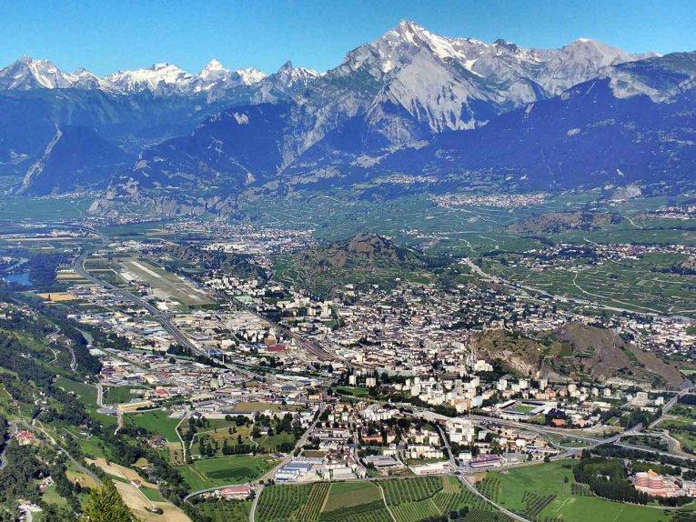 Schweiz - Wallis - Sitten