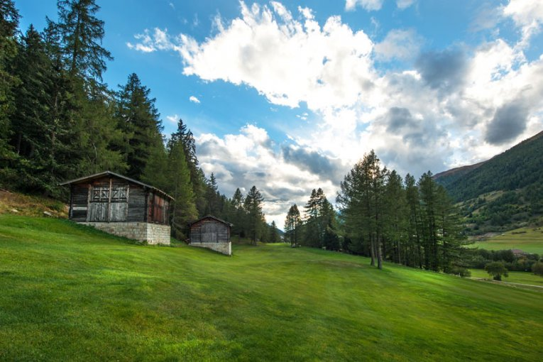 Schweiz - Golf Source du Rhône