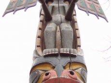 Kanada Totem First Nations