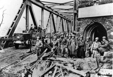 Rheinland-Pfalz - Brücke von Remagen / Ludendoff Brücke