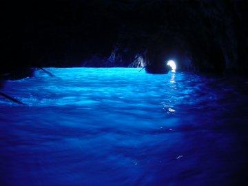Italien - Kampanien - Blaue Grotte