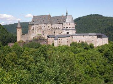Luxemburg - Burg Vianden