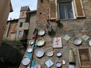 Italien - Umbrien und Marken - Deruta