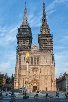 Kroatien - Kathedrale Zagreb