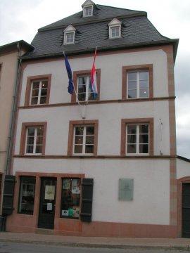 Luxemburg - Vianden Victor Hugo Haus