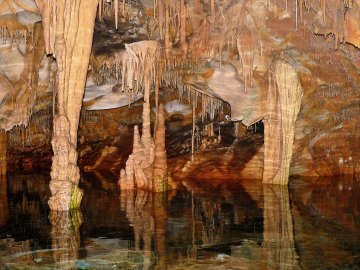 Griechenland - Peloponnes - Diros Höhle